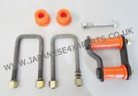 Nissan Navara D40 Pick Up 2.5DCi - YD25DDTi (05/2005-2015) - Rear Suspension Leaf Spring Fitting Kit